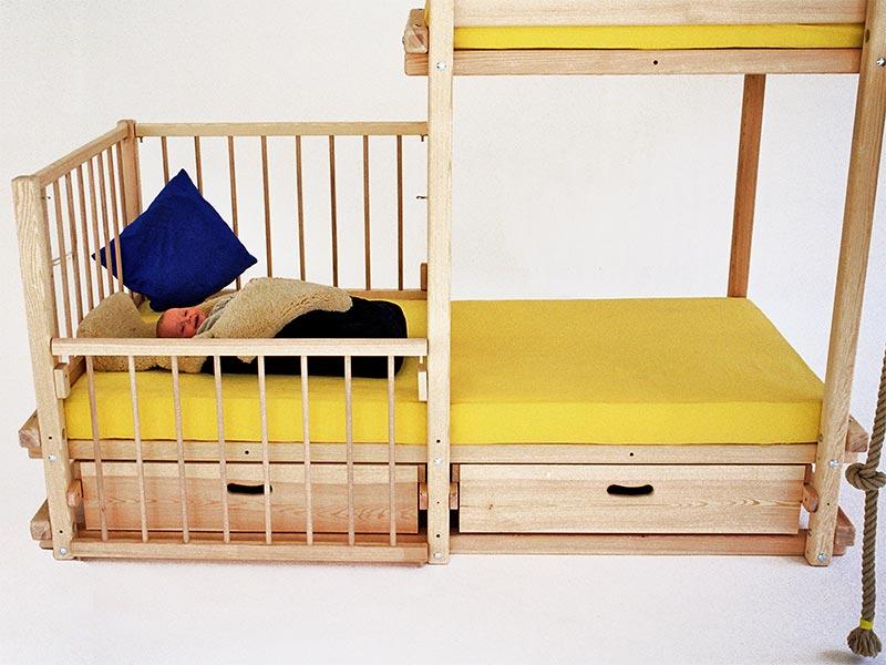 Etagenbett Babygitter : Heipas spielbetten